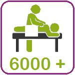 Ruime ervaring met 6000 behandelingen in 12 jaar